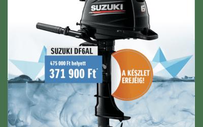 A legkedveltebb Suzuki hajómotor típusunk